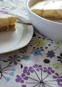 Citromkrémes torta (cukormentes)