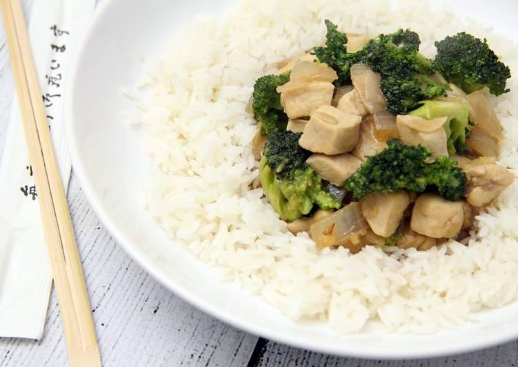 Brokkolis kínai csirke