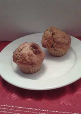 Mandulás banános muffin