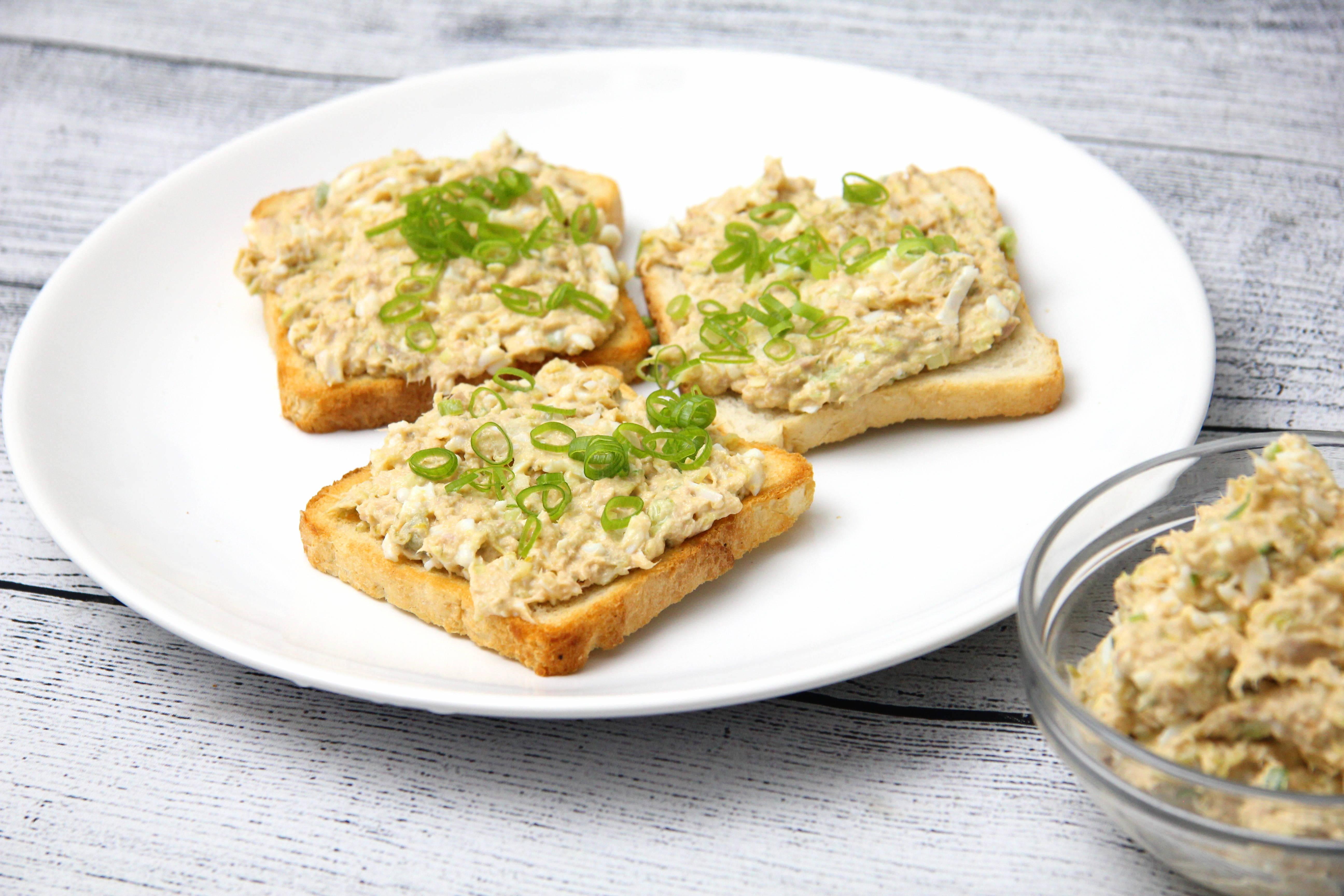 Tojásos tonhalkrém recept főfotó