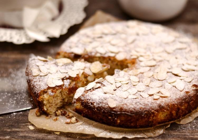 Ricottás mandulalisztes, gluténmentes torta