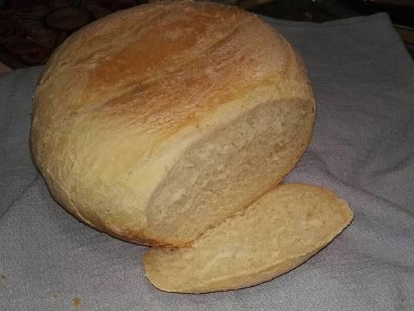 Fehér kenyér kenyérsütőgépben