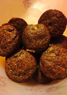 Almás- mákos muffin mazsolával
