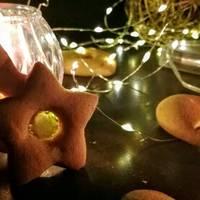 Üvegablakos karácsonyi mézeskalács