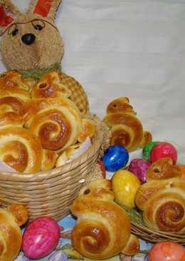 Húsvéti nyuszi briós