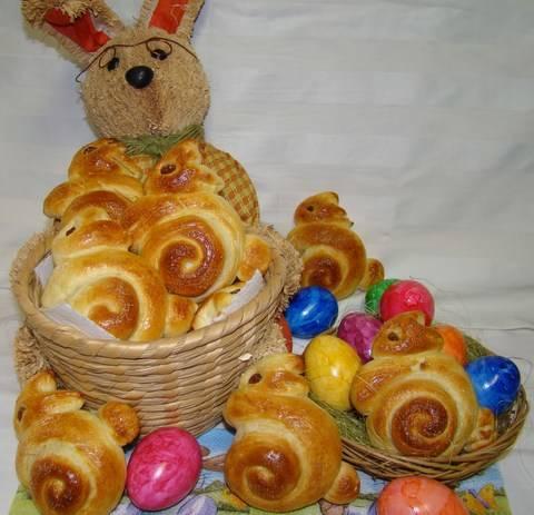 Húsvéti nyuszi briós recept főfotó