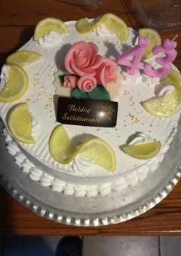 Habos Citrom Torta 🎂