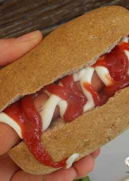 Extra diétás hot-dog kifli