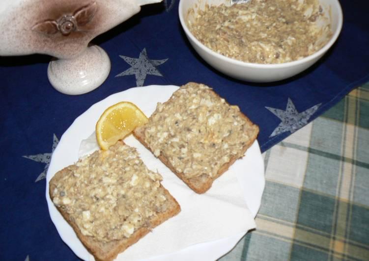 Makrélakrém - szendvics