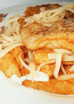 Sült hal burgonyával