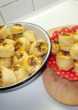Burgonyapelyhes omlós vajas pogácsa