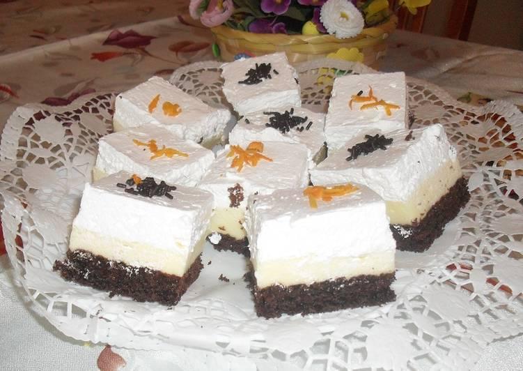Narancsos amerikai torta