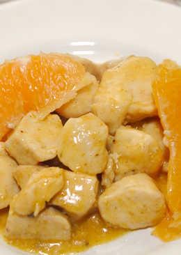 Currys, narancsos csirke