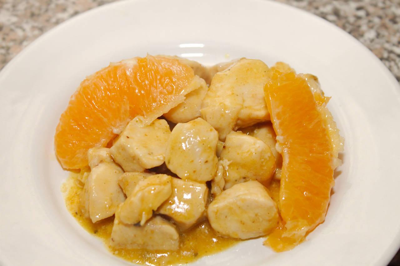 Currys, narancsos csirke recept főfotó