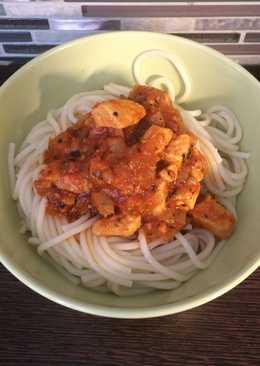 Villámgyors húsos spagetti