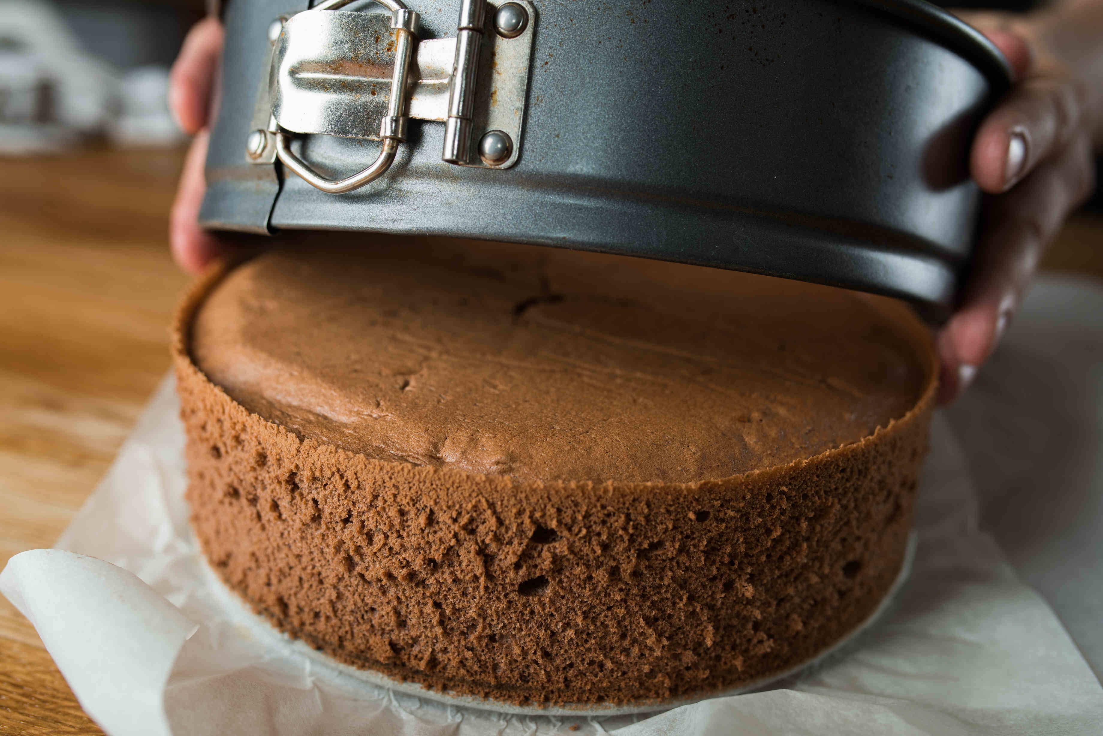 Csokis piskóta recept főfotó