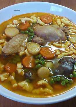 Zöldborsó ragu leves recept