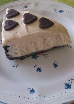 Csokis kekszes-mogyoróvajas torta