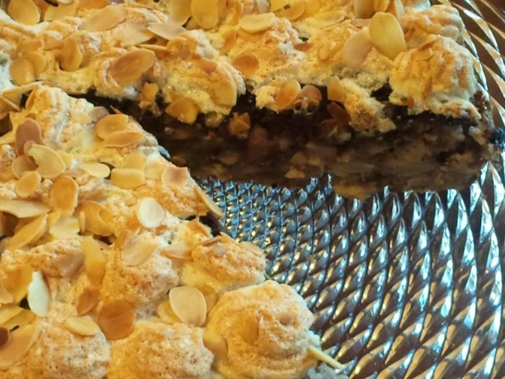 Bodzalekváros almatorta recept főfotó