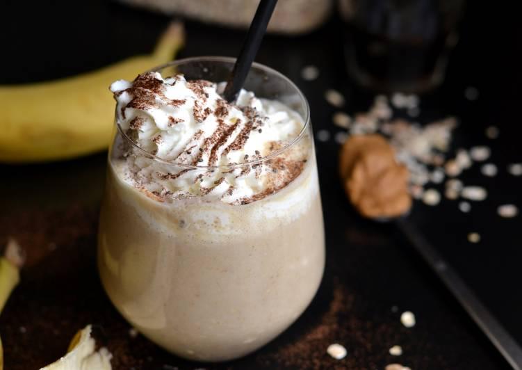 Zabpelyhes, banános reggeli smoothie