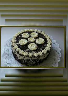 Mascarponés-csokis citrom ízű torta