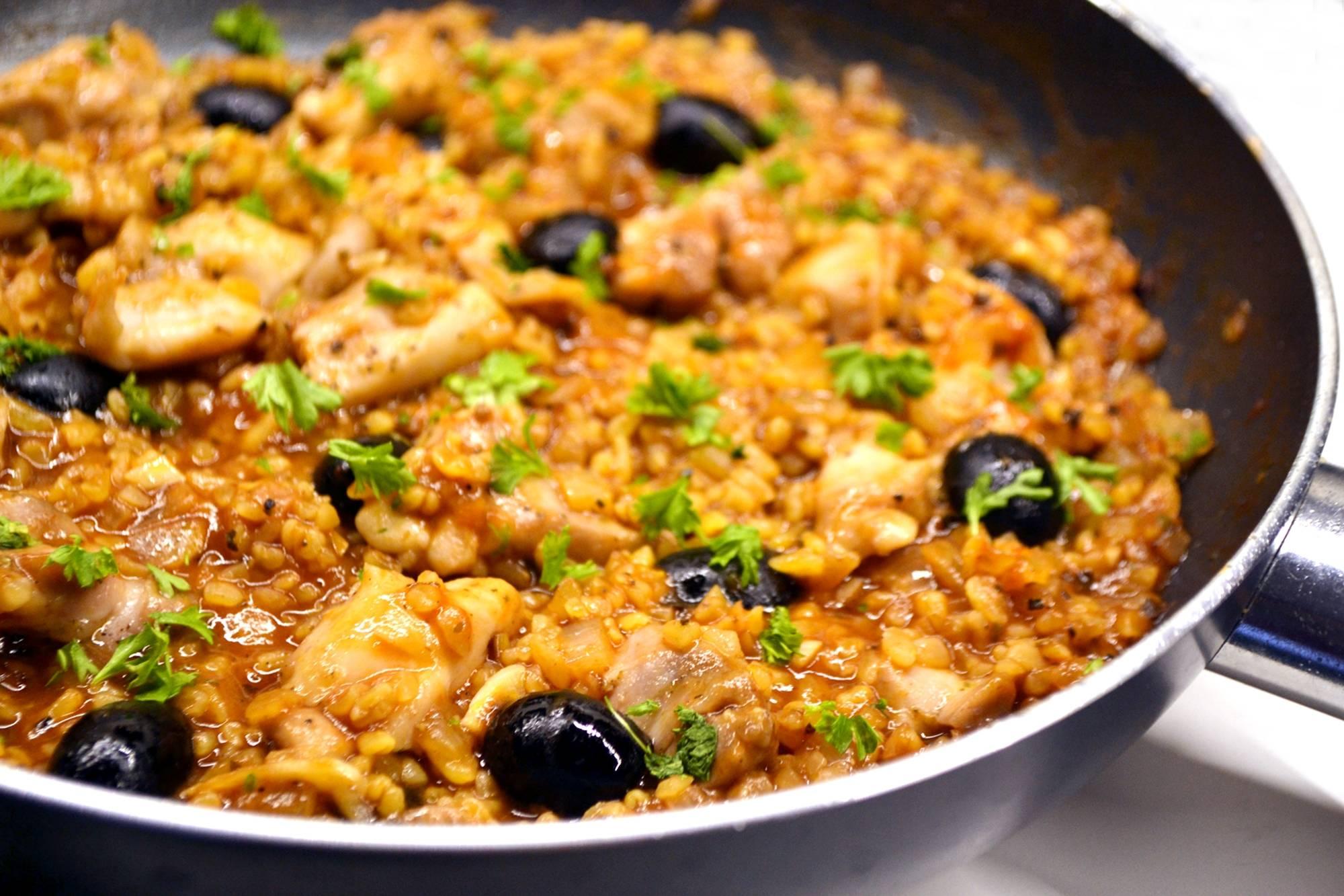 Csirkés bulgur egytálétel recept főfotó