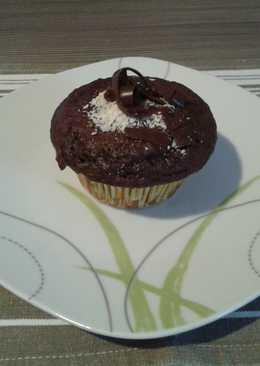 Csokis, lekváros muffin