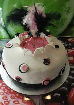 Szülinapi feketeerdő tortám