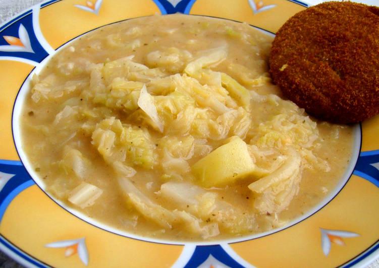 Kelkáposzta főzelék recept II