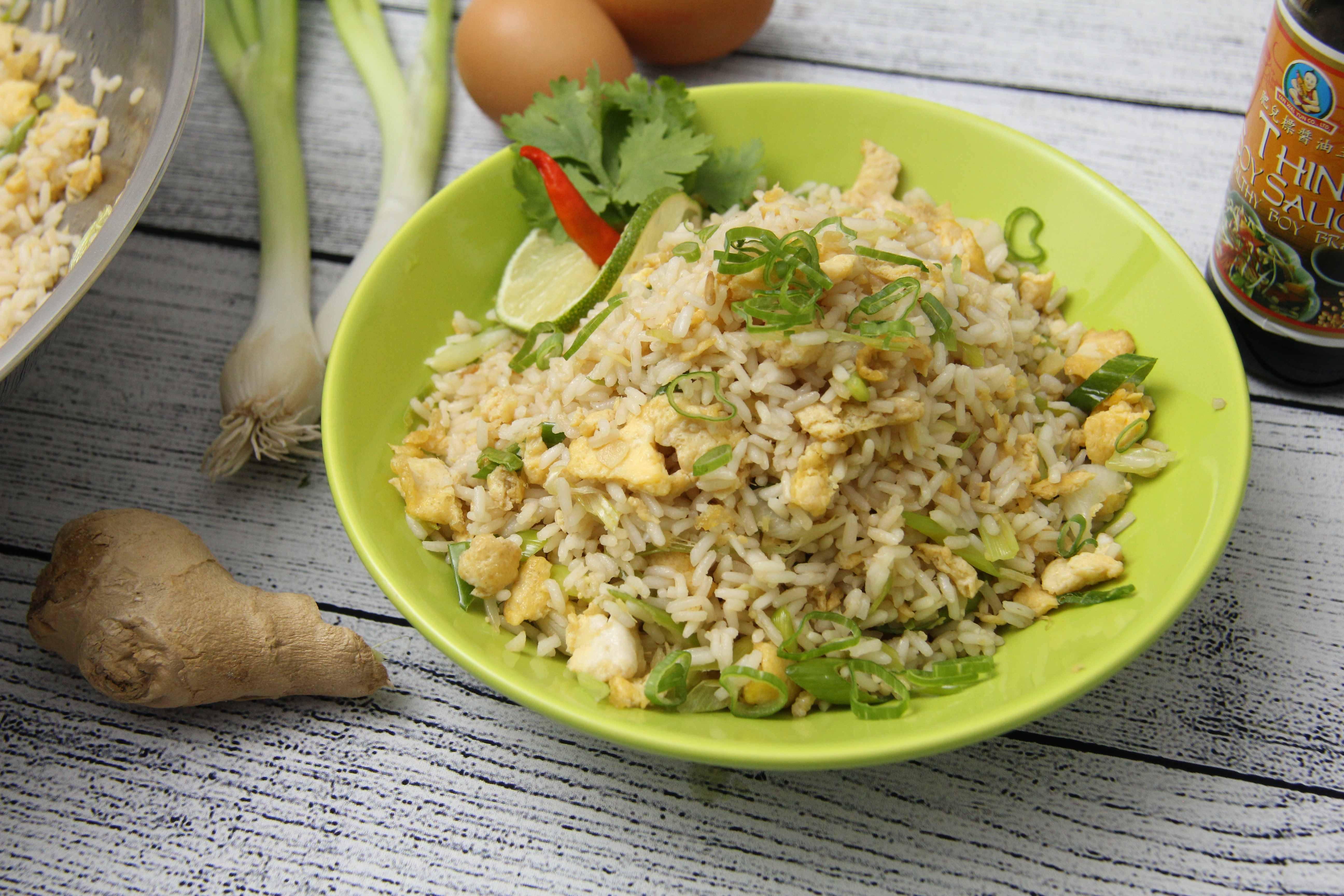 Tojásos sült rizs recept főfotó