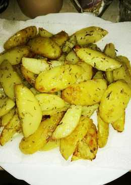 Rozmaringos sült krumpli