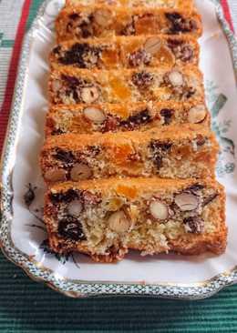 """""""Fruktkaka"""" - svéd karácsonyi gyümölcs kenyér"""