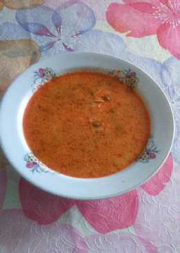 Borsó leves, csiga tésztával😊