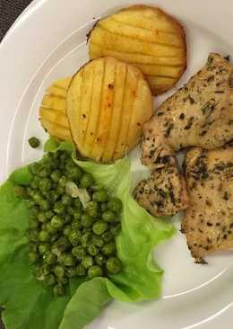 Zöld fűszeres csirkemell Lilla konyhájából