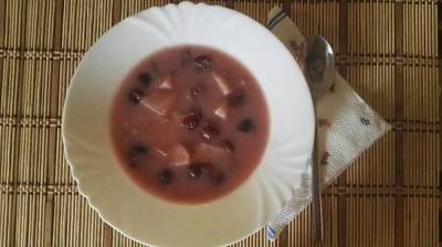 Gyümölcsleves