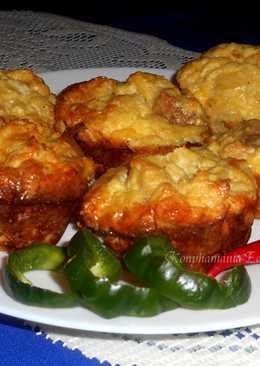 Bundás kenyér muffin