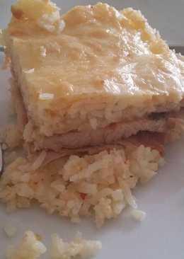 Pulyka rizs ágyon