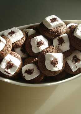 Pillecukros-csokis korong