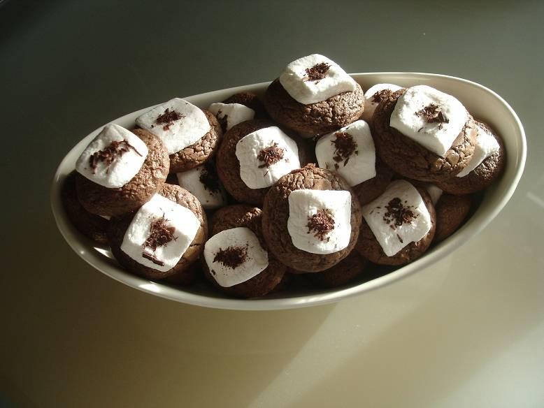 Pillecukros-csokis korong recept főfotó