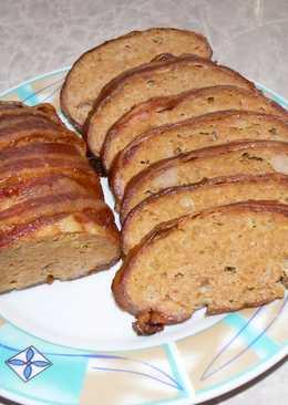 Baconbe tekert fasírt