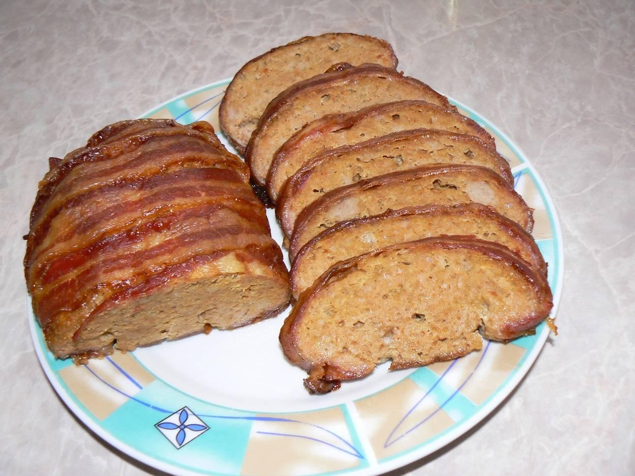 Baconbe tekert fasírt főfotó