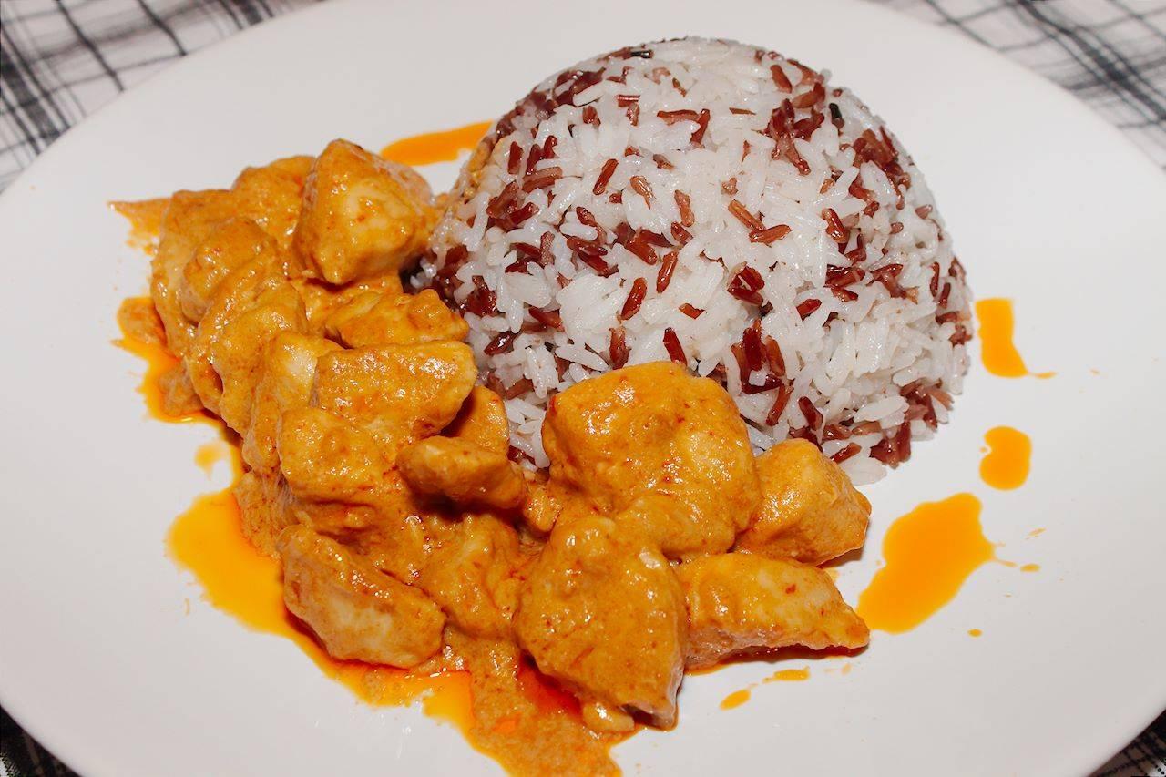 Gyors csirke curry recept főfotó