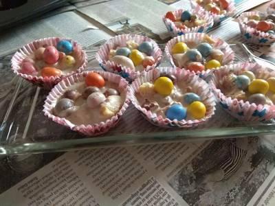 Egy kis édes boldogság (sütés nélküli muffin)