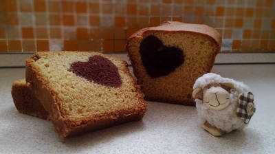 Szív küldi sütemény #valentinnap