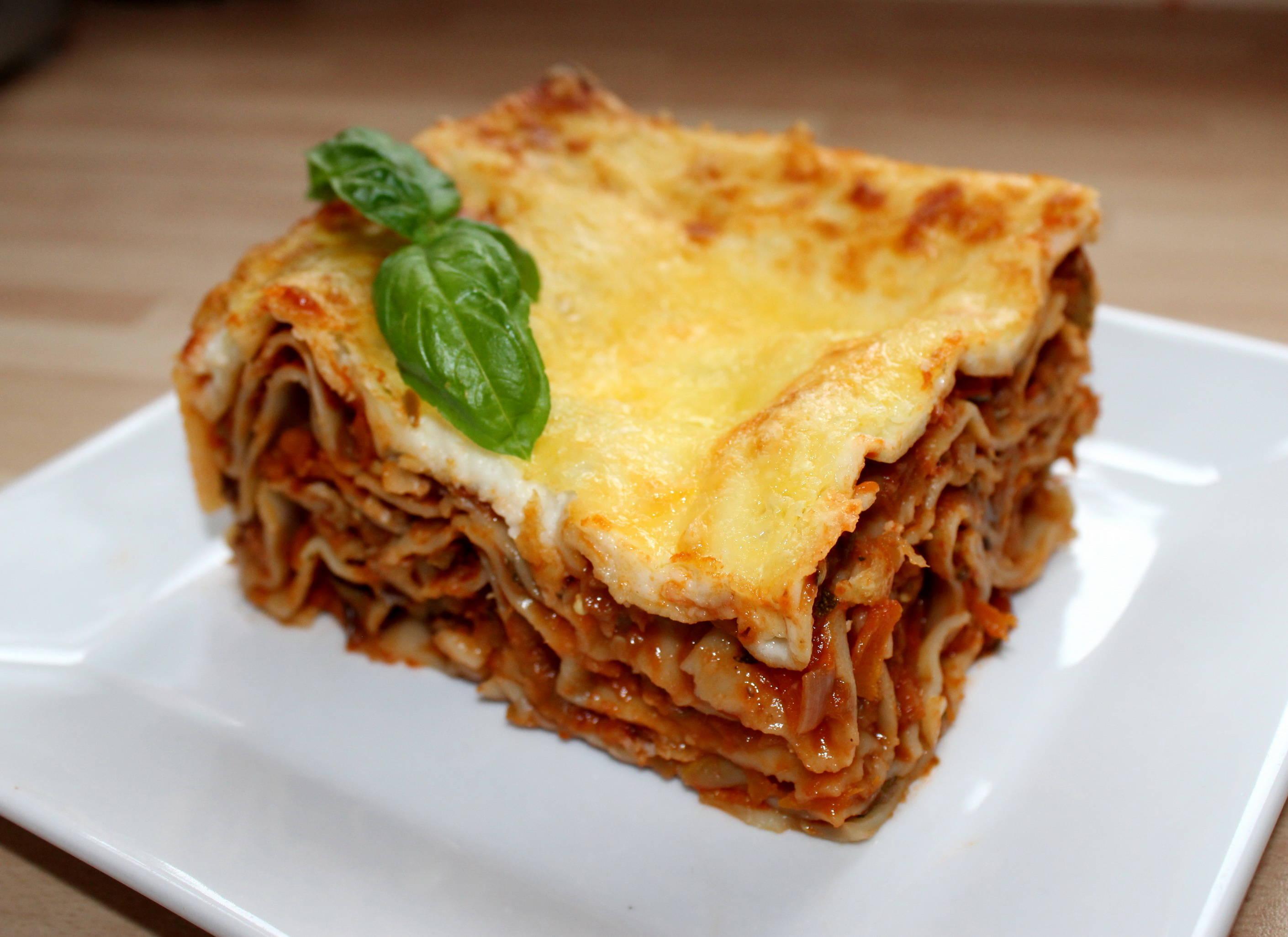 Zöldséges lasagne recept főfotó