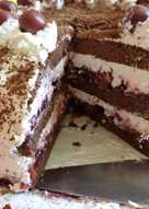 Feketeerdei torta - Jucus módra