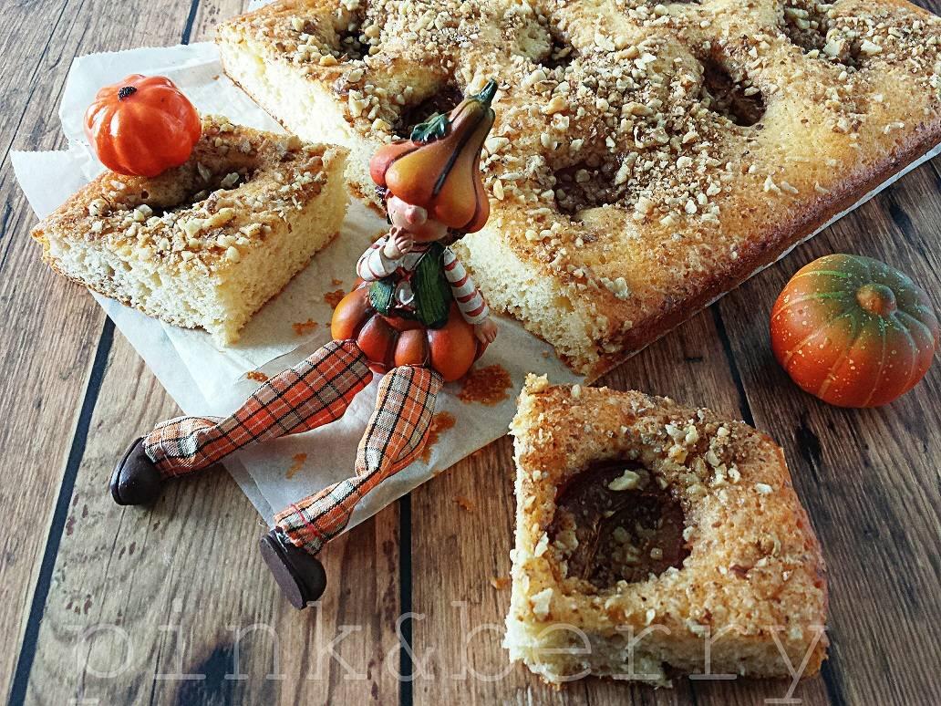 Szilvás-diós sütemény recept főfotó