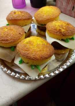 Hamburger muffin