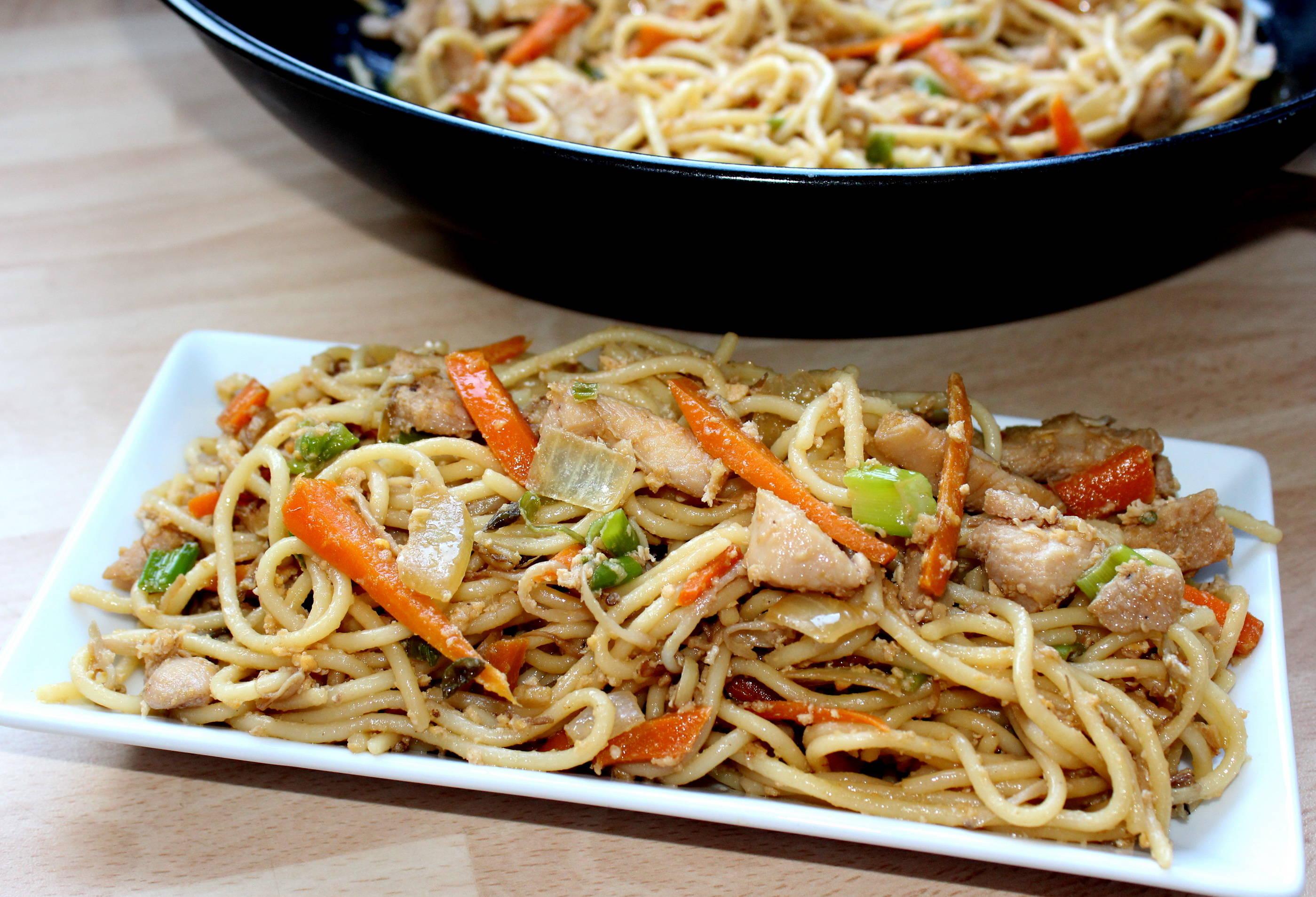 Kínai sült tészta recept főfotó