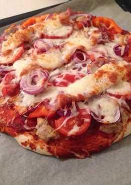 Egyszerű de nagyszerű pizza 🍕